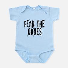 Funny Oboe Fear Infant Bodysuit