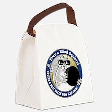 Hockey Blind Squirrel Canvas Lunch Bag
