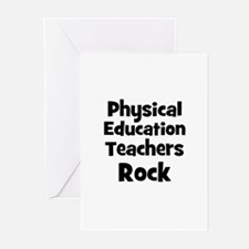 Physical Education Teachers R Greeting Cards (Pack