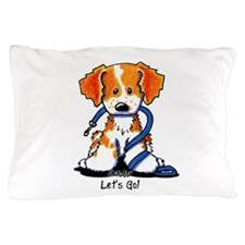 Let's Go! Brittany Pillow Case