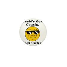 Worlds Best Cousin Humor Mini Button