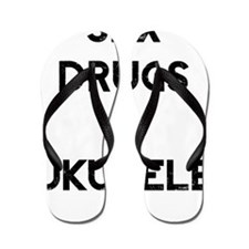 Sex Drugs Ukulele Flip Flops