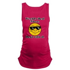 Worlds Best Niece Humor Maternity Tank Top