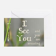 I See You Greeting Card