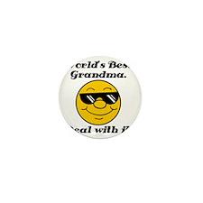 Worlds Best Grandma Humor Mini Button