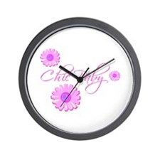 Chic Baby Petal Wall Clock