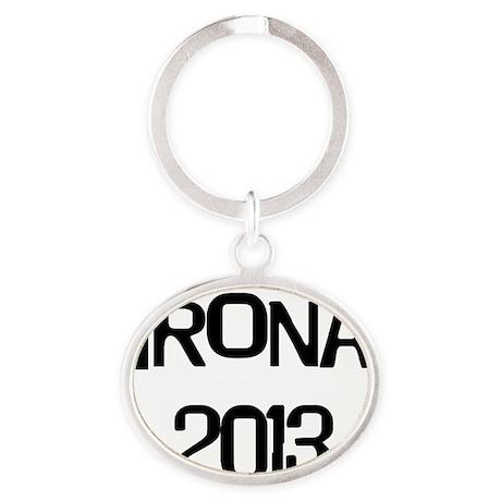 Trona 2013 Oval Keychain