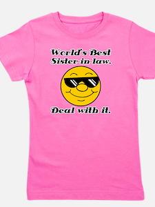 Worlds Best Sister-In-Law Humor Girl's Tee
