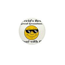 Worlds Best Great Grandma Humor Mini Button