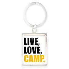 live love camp Portrait Keychain