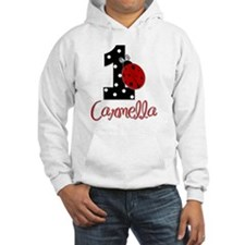 1st Birthday Ladybug - CARMELLA Hoodie