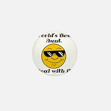 Worlds Best Aunt Humor Mini Button