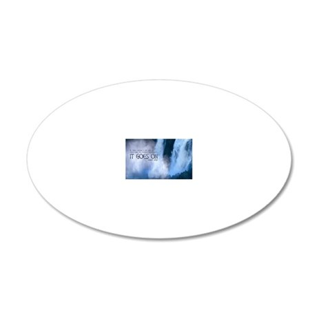 269-Frost-CFmagnet 20x12 Oval Wall Decal