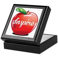 Inspire Apple for Teacher Keepsake Box