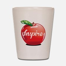 Inspire Apple for Teacher Shot Glass