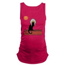 little Indian chief kitty cat  Maternity Tank Top