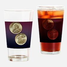 Lynchburg VA Sesquicentennial Half  Drinking Glass