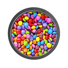 Colorful Candies Wall Clock