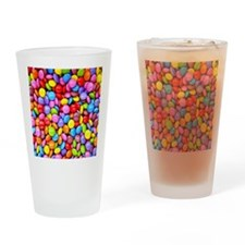 Colorful Candies Drinking Glass