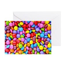 Colorful Candies Greeting Card