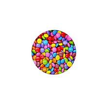 Colorful Candies Mini Button
