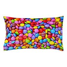 Colorful Candies Pillow Case