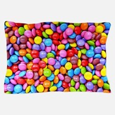 Colorful Candies Pillow Case