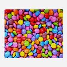 Colorful Candies Throw Blanket