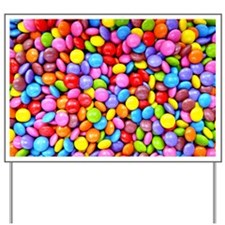 Colorful Candies Yard Sign