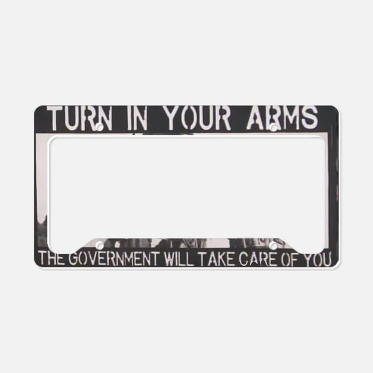 Lessons Learned the Hard Way. License Plate Holder