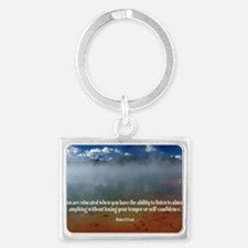 271-Frost: Educated Landscape Keychain