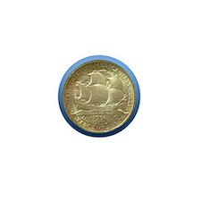 Long Island Tercentenary Half Dollar C Mini Button