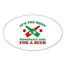 It's The Most Wonderful Time For A Beer Decal