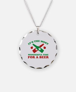 It's The Most Wonderful Time For A Beer Necklace