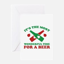 It's The Most Wonderful Time For A Beer Greeting C