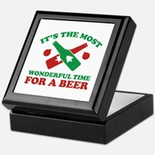 It's The Most Wonderful Time For A Beer Keepsake B