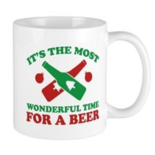 It's The Most Wonderful Time For A Beer Small Mug