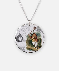 The White Rabbit Alice in Wo Necklace