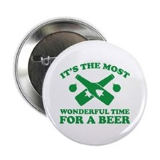 """It's The Most Wonderful Time For A Beer 2.25"""" Butt"""