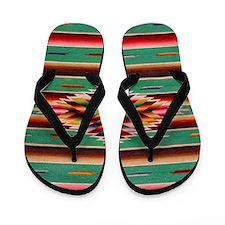 Southwest Weaving Flip Flops
