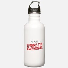 Aunt Awesome Water Bottle