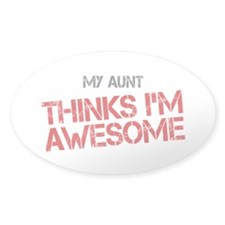 Aunt Awesome Decal