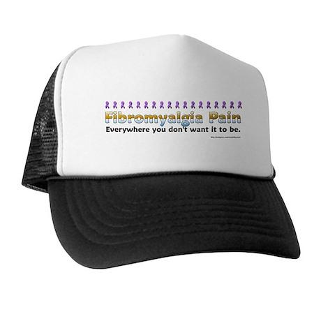 Fibromyalgia Pain Trucker Hat