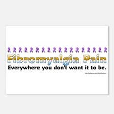 Fibromyalgia Pain Postcards (Package of 8)