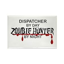 Zombie Hunter - Dispatcher Rectangle Magnet (10 pa