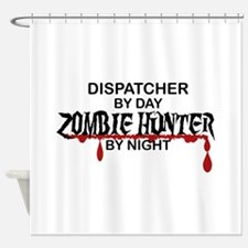 Zombie Hunter - Dispatcher Shower Curtain