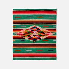 Southwest Weaving Throw Blanket