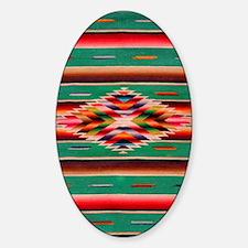 Southwest Weaving Sticker (Oval)