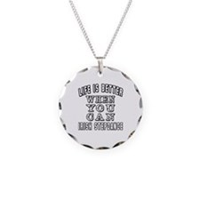 Life Is Better When You Can Irish StepDance Neckla