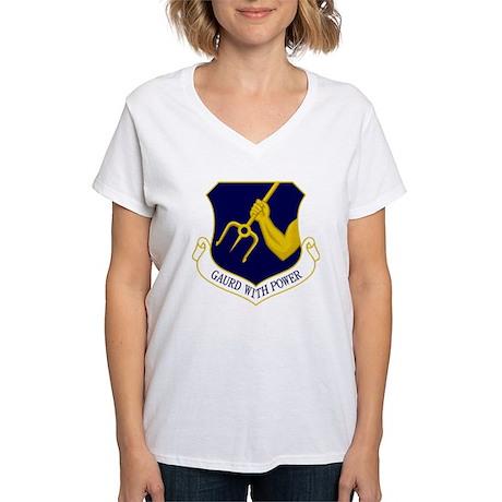 25th TRW Women's V-Neck T-Shirt